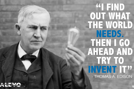 Thomas Edison is one of the world's most influential innovators Infographic