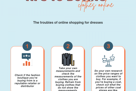 Three foolproof tips to buying clothes online Infographic