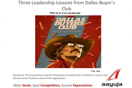 Three Leadership Lessons from Dallas Buyer's Club Infographic