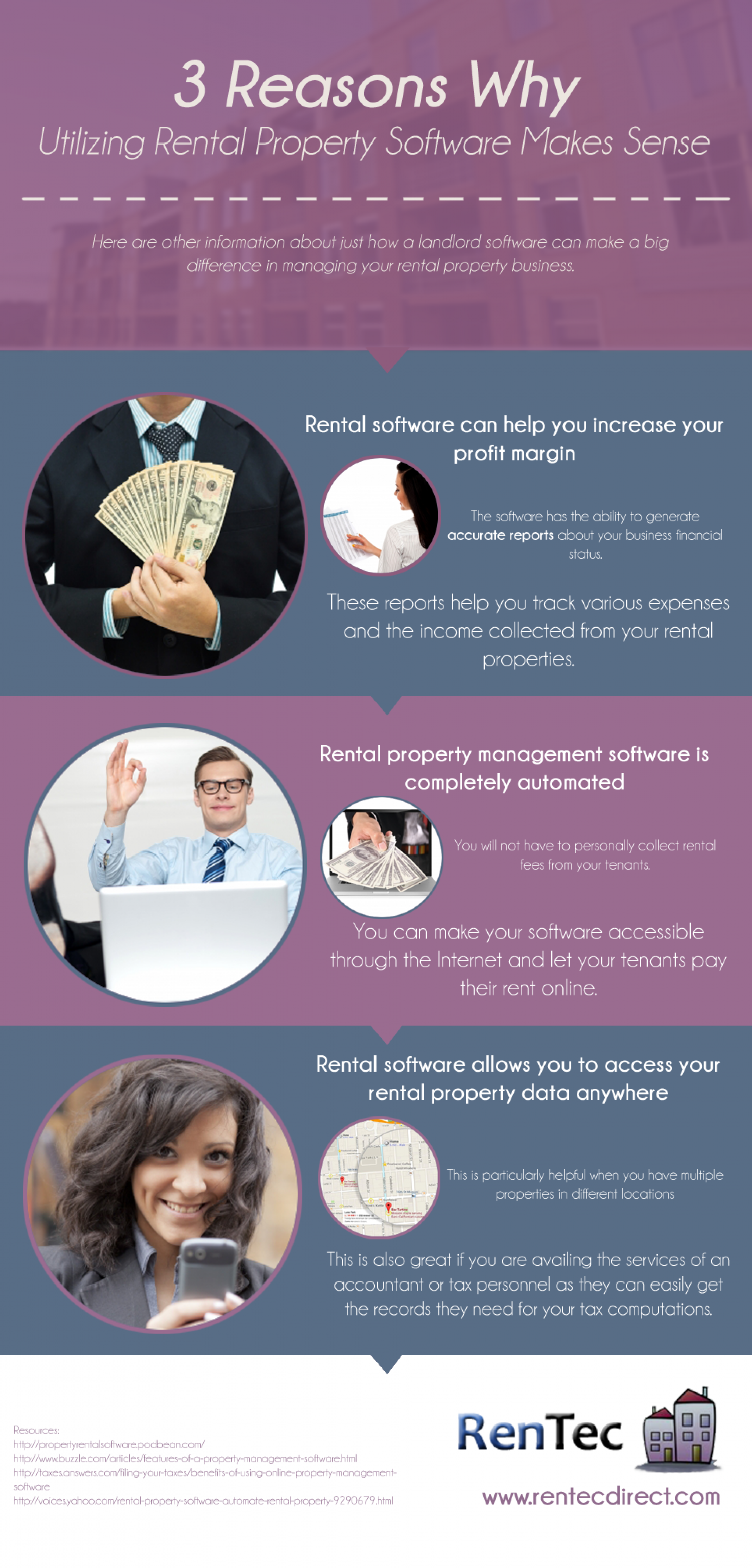 3 Reasons Why Utilizing Rental Property Software Makes Sense Infographic