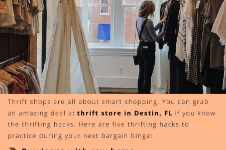 Thrifting Hacks You Should Know Infographic