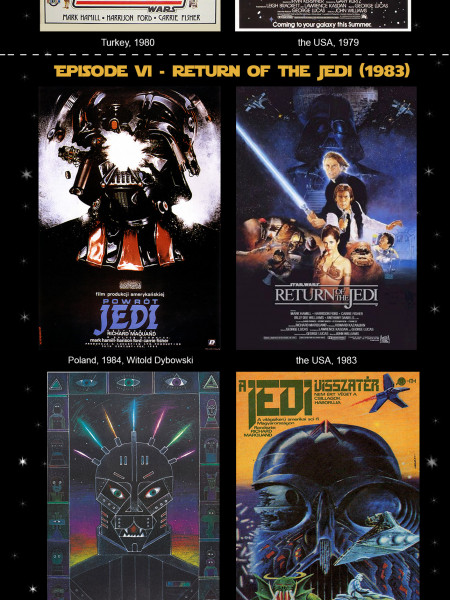 Star Wars: Through the Evolution of Posters Infographic