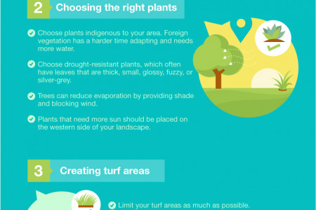 Til the Well Runs Dry: How Xeriscaping Helps Conserve Water Infographic