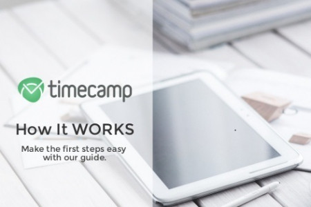 TimeCamp Guide - How it Works? Infographic