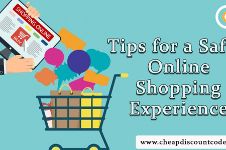 Tips for a Safer Online Shopping Experience Infographic