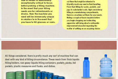 Tips for Choosing a Best Liquid Filling Technology in Singapore Infographic