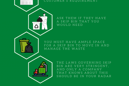 Tips For Choosing The Best Skip Bin Hire Service Infographic