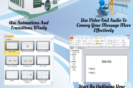 Tips For Creating Better Presentations On Microsoft Powerpoint Infographic