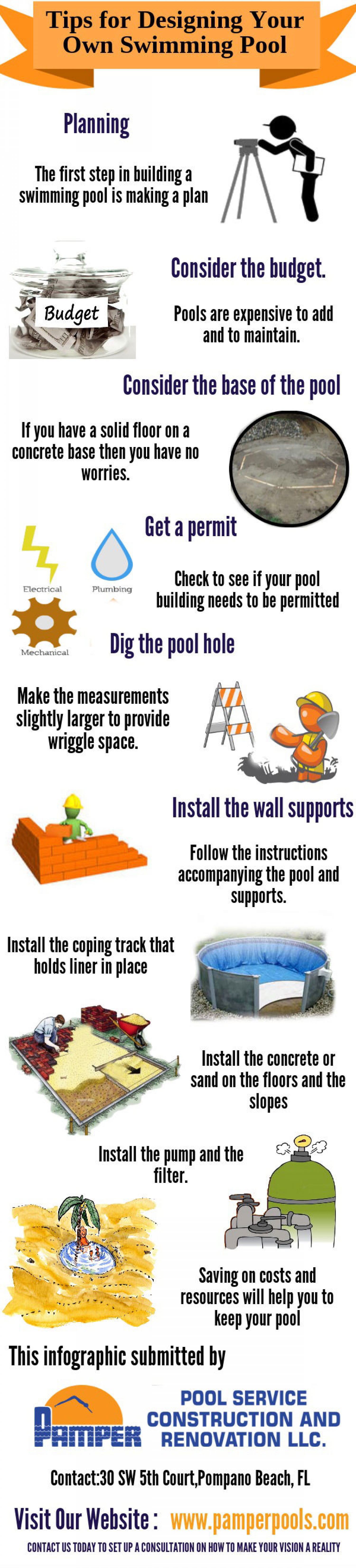 Tips for Designing Your Own Swimming Pool