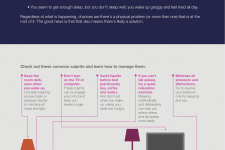 Tips For Getting A Better Nights Sleep Infographic