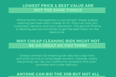 Tips for Getting the Best Deal on Janitorial Services Infographic