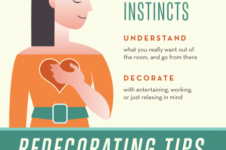 Tips for Redecorating Your Apartment's Living Room  Infographic