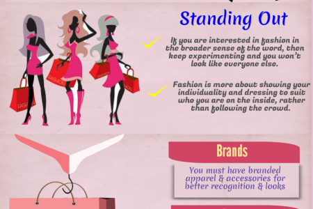 Tips For Standing Out in a Crowd Infographic