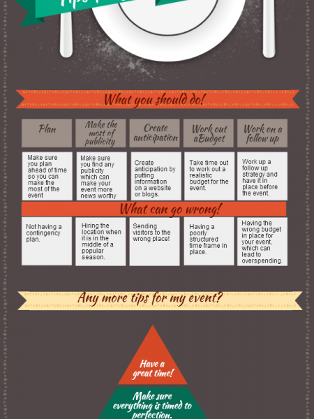 Tips for Your Corporate Event Infographic