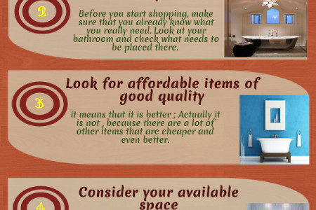 Tips on Buying the Best Bathroom Accessories Infographic