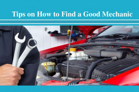 Tips on How to Find a Good Mechanic Infographic