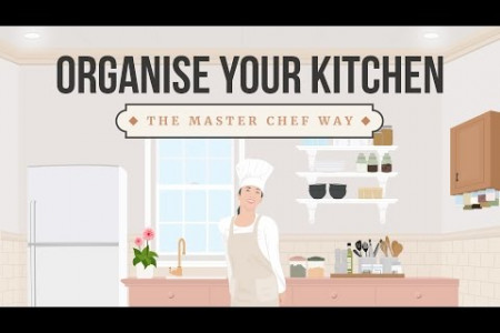 Tips on How to Organize Your Kitchen Infographic