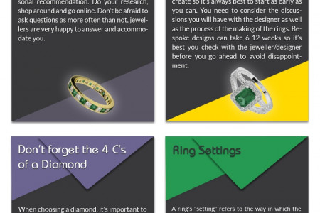 Tips to Buy Custom Engagement Ring Infographic