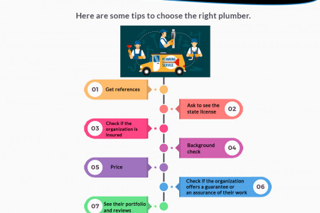 Tips to Choose the Right Plumbing Infographic