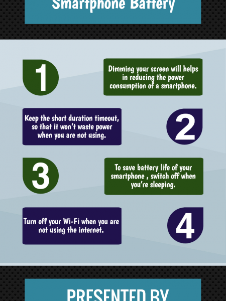 Tips to Conserve your Smartphone Battery Infographic