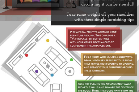 Tips to Decorating Your Living Room Infographic