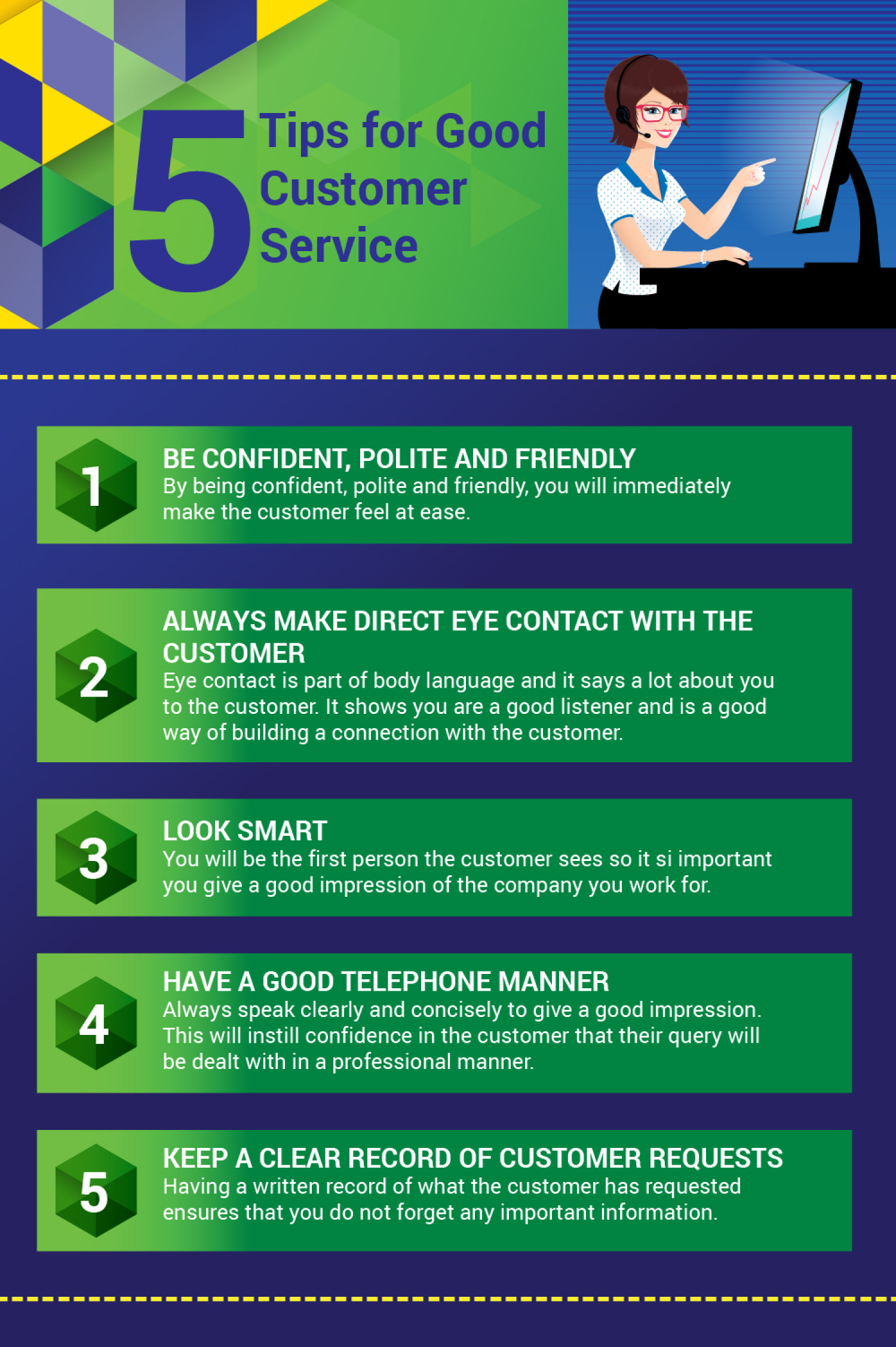 Tips To Delivering Customer Service Excellence Visual Ly