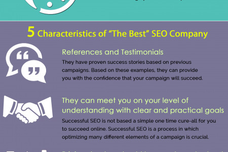 Tips to Find The Best SEO Agency Infographic