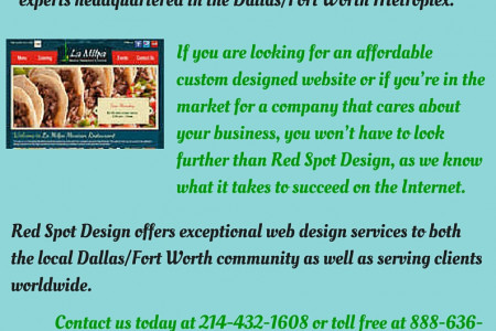Tips to Get Creative Web Design in Dallas Infographic