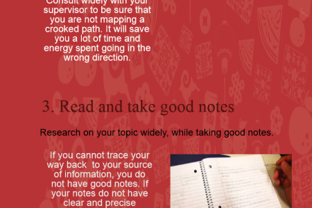 Tips to make writing easier Infographic