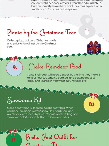 Tips to making this Christmas the Merriest Ever Infographic