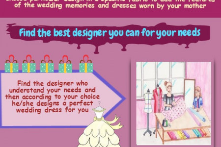 Tips To Remember When Opting For Bespoke Bridal Gowns Infographic