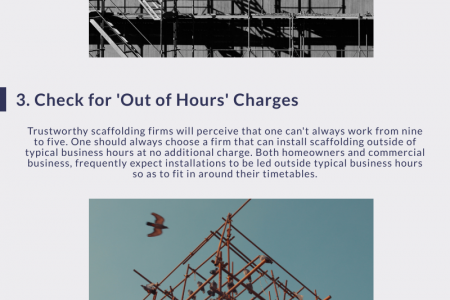 Tips to Save Money During Scaffold Hire Infographic