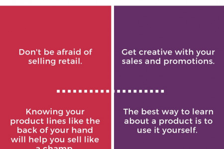 Tips to sell hair products in a salon Infographic