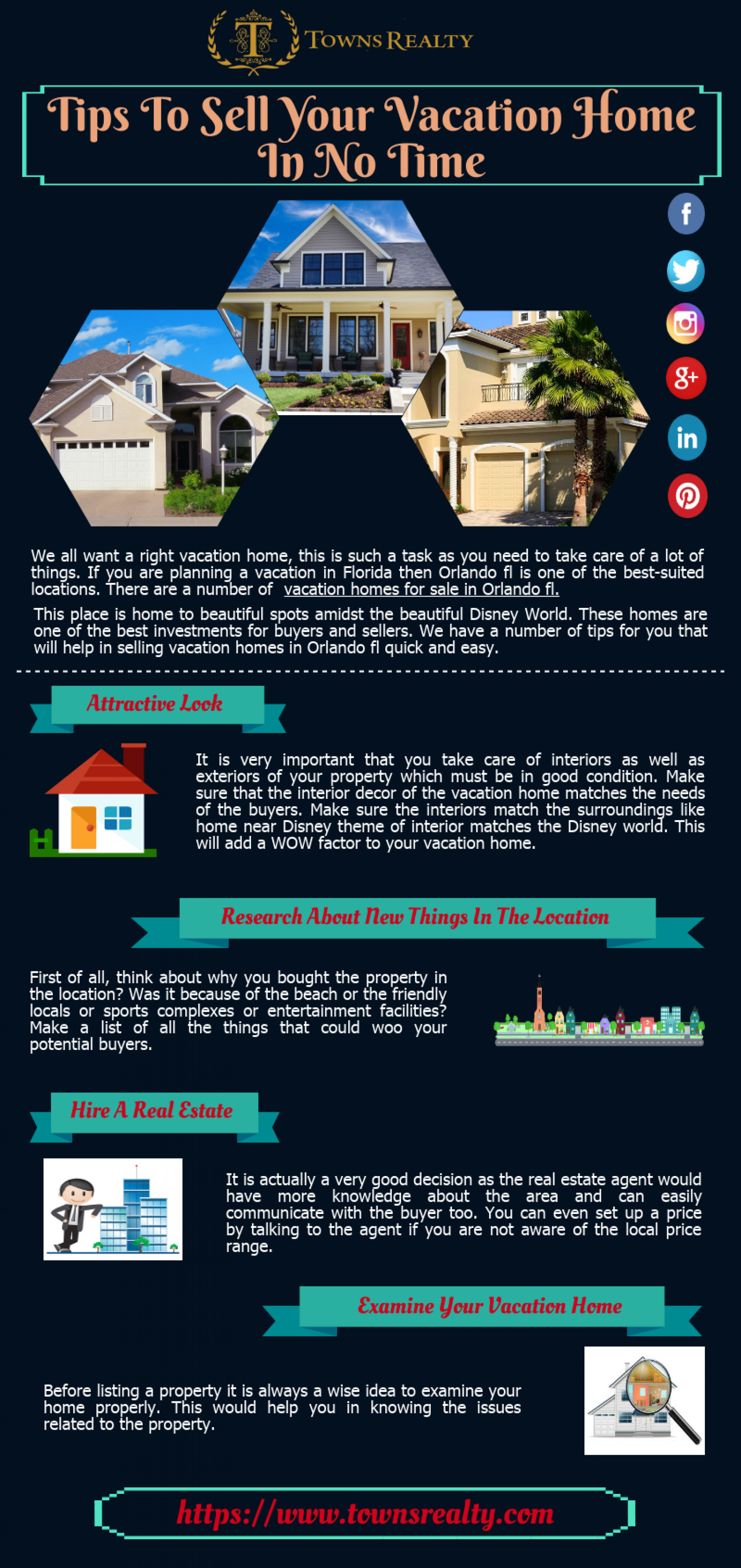 Tips To Sell Your Vacation Home in No Time Infographic