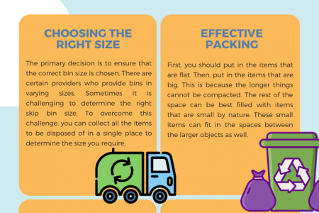 Tips to Use Skip Bins Correctly Infographic