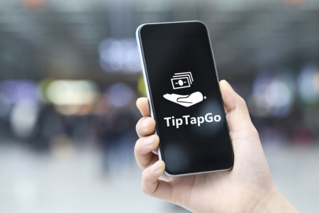 TipTapGo Mobile Payment App   Easy, Free and Instant  Infographic