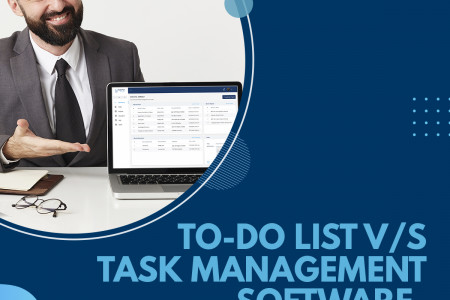 To-Do List vs. Task Management Software- What Does Your Company Need the Most? Infographic