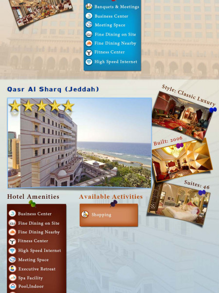 Top 10 5 star hotels in Saudi Arabia Infographic
