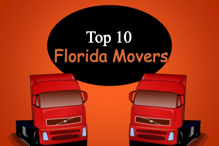 Top 10 Florida Movers - Moving Companies List Infographic