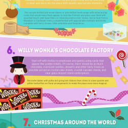 Top 10 holiday party ideas for work infographic for Holiday party themes for work