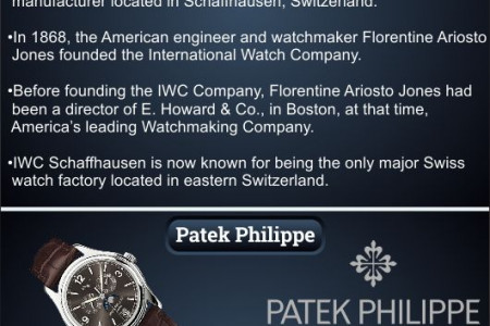 Top 10 Luxury Watch Brand in the world Infographic