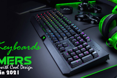 Top 10 PC Keyboards For Gamers with Cool Design in 2021 Infographic