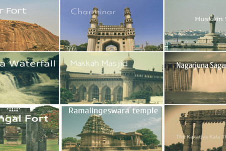 Top 10 Places To Visit In Telangana Infographic
