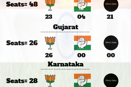 Top 10 State of India Opinion Poll for Lok Sabha Elections 2019 Infographic