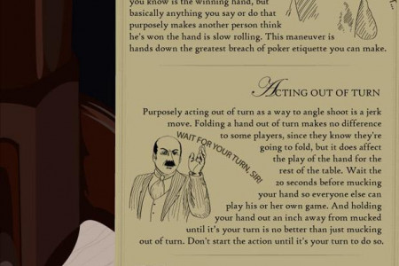 Top 12 Worst Poker Etiquette Mistakes Infographic