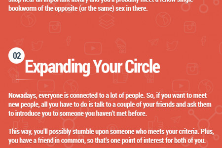 Top 3 Alternatives to Online Dating Infographic