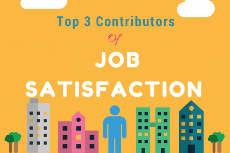 Top 3 Contributors of Job Satisfaction!  Infographic
