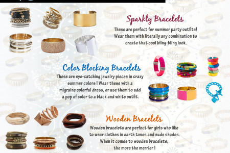 Top 3 Hottest Bracelet Patterns Infographic