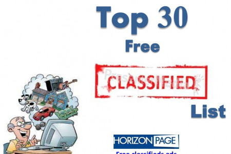 Top 30 Free Best USA Local Classifieds Ads Website List Infographic