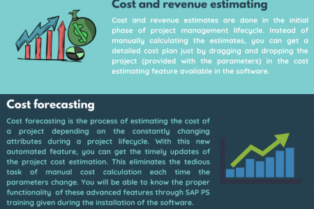 Top 4 Automated Features Included in SAP Project System Trainings Infographic